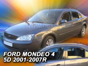 Deflektory Heko - Ford Mondeo, Sedan od r.2001 (so zadnými)