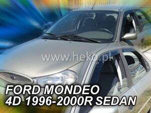 Deflektory Heko - Ford Mondeo, Sedan 1996r.- 2000r. (so zadnými)