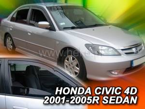 Deflektory Heko - Honda Civic, Sedan 2000r.- 2005r.