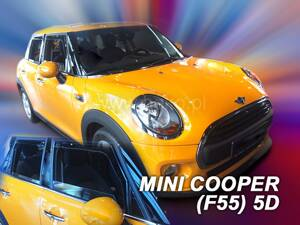 Deflektory Heko - Mini Cooper ONE, (F55) od r.2014 (so zadnými)